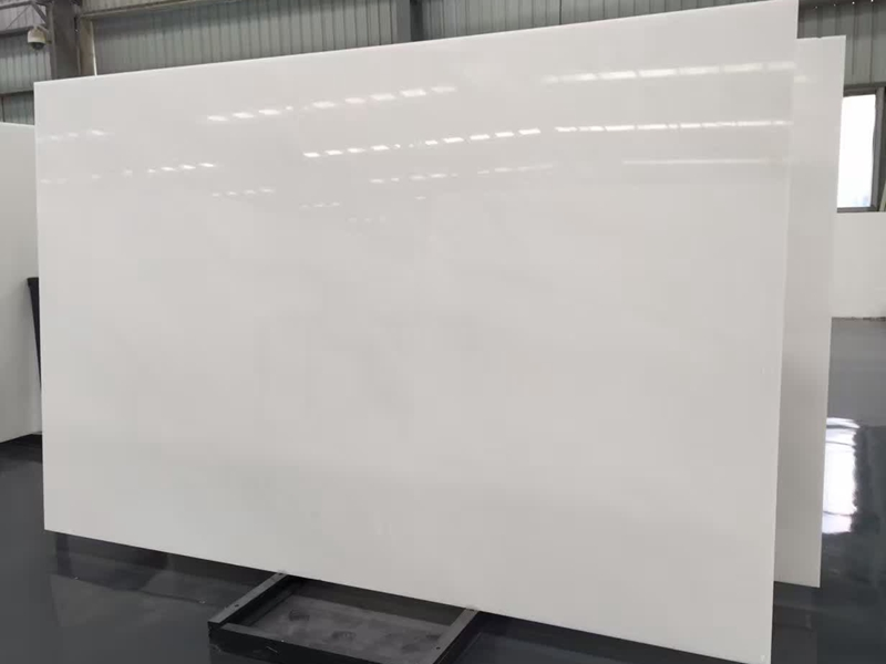 Absolute White Marble Slabs