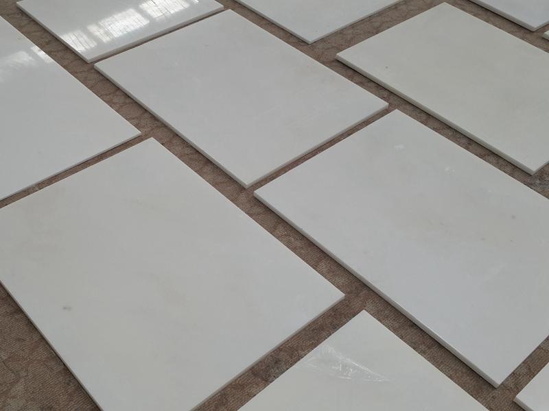 Alabaster White Marble Tiles