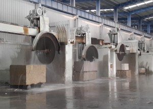 Analysis and Solution of Stone Slabs Bending Caused by Circular Cutting Saw Blades