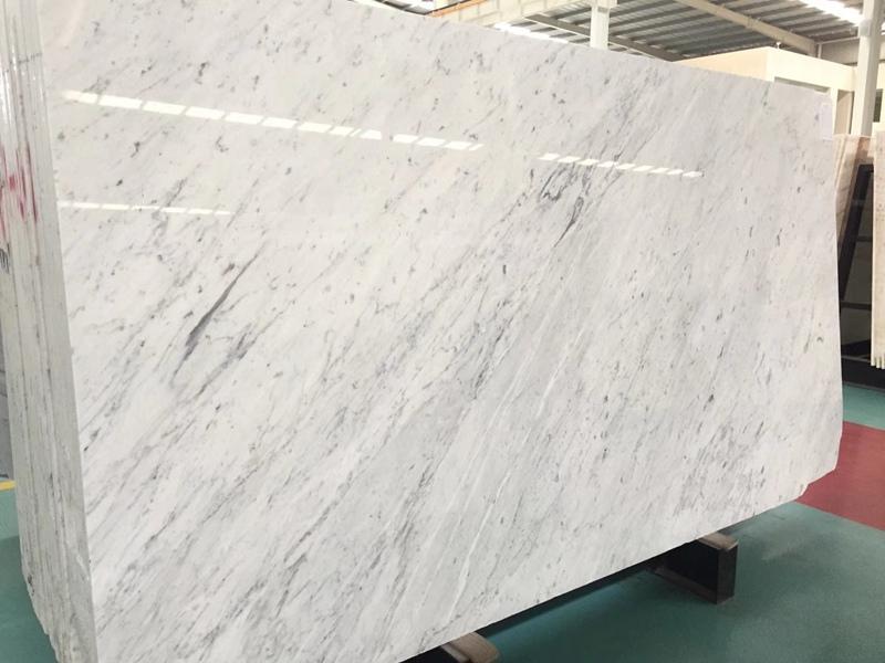 Bianco Carrara White Marble Slabs
