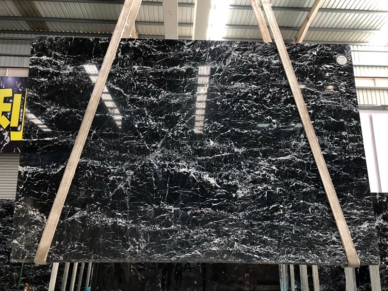 Black Snow Marble