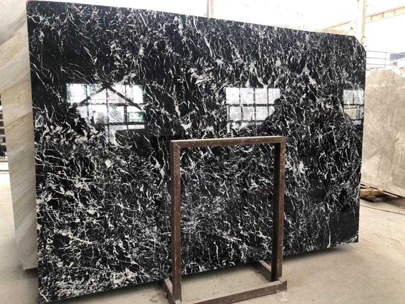 Black White Marble Tiles