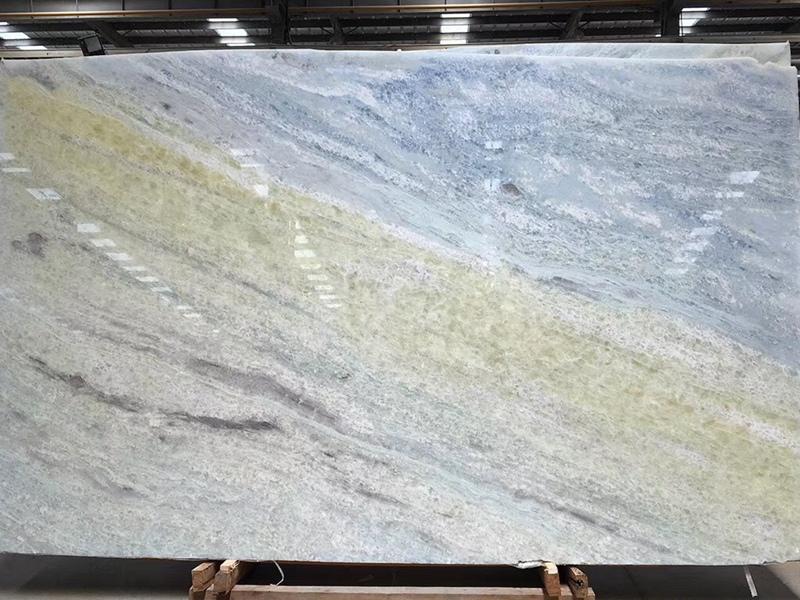 Blue Crystal Marble