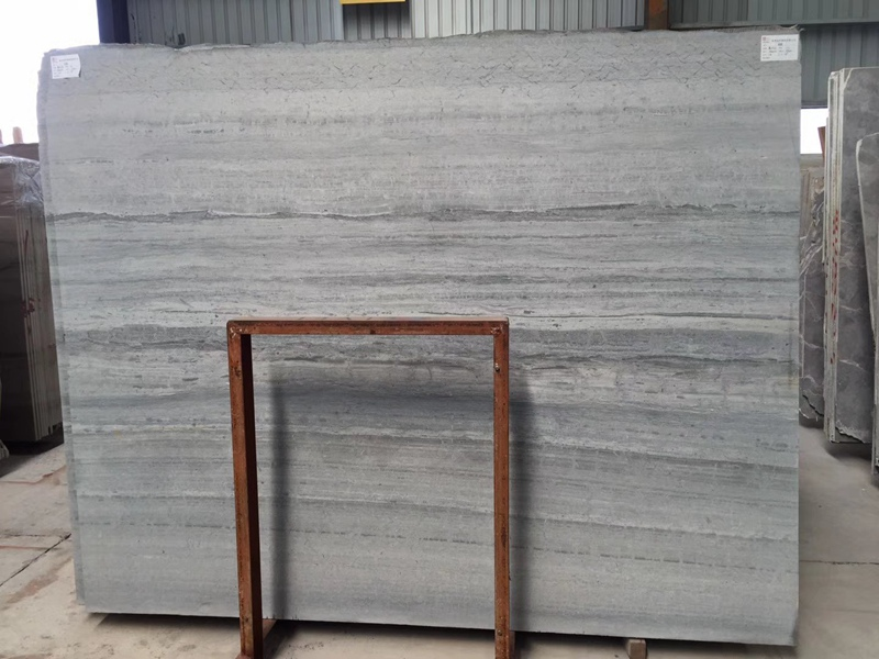 Blue Wooden Marble Slabs