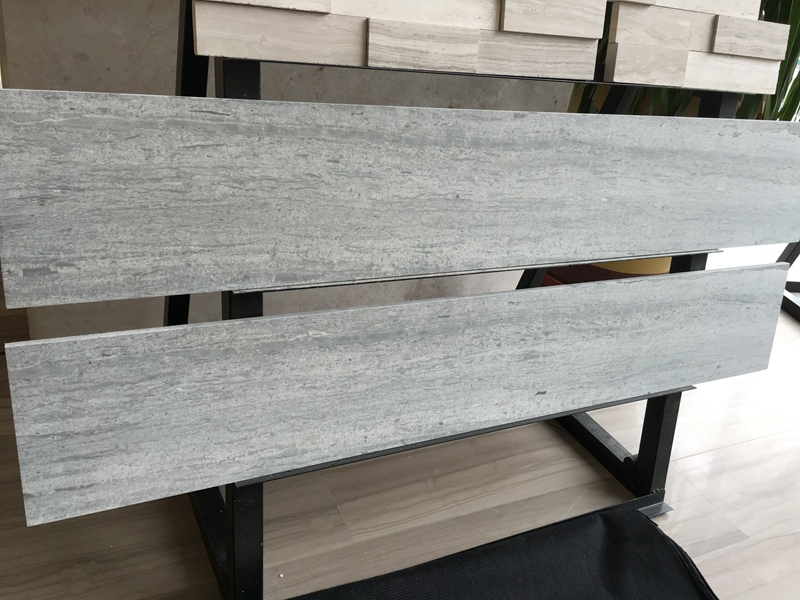 Blue Wooden Marble Tiles