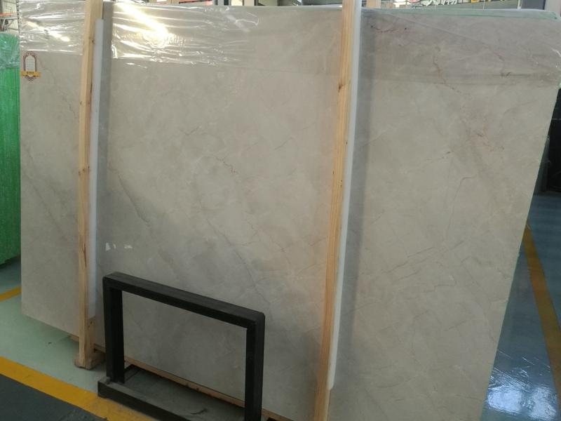 China Angel Beige Marble Slabs