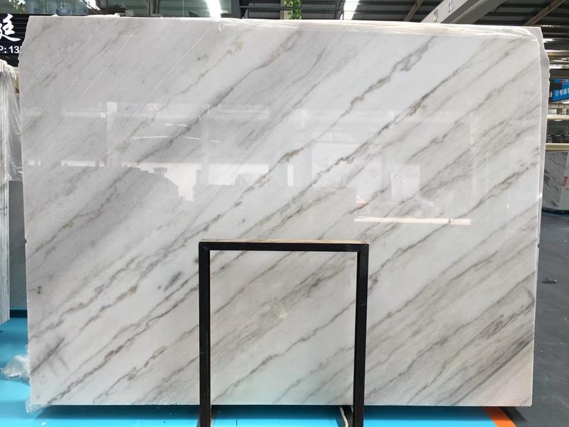 China Carrara White Marble Slabs