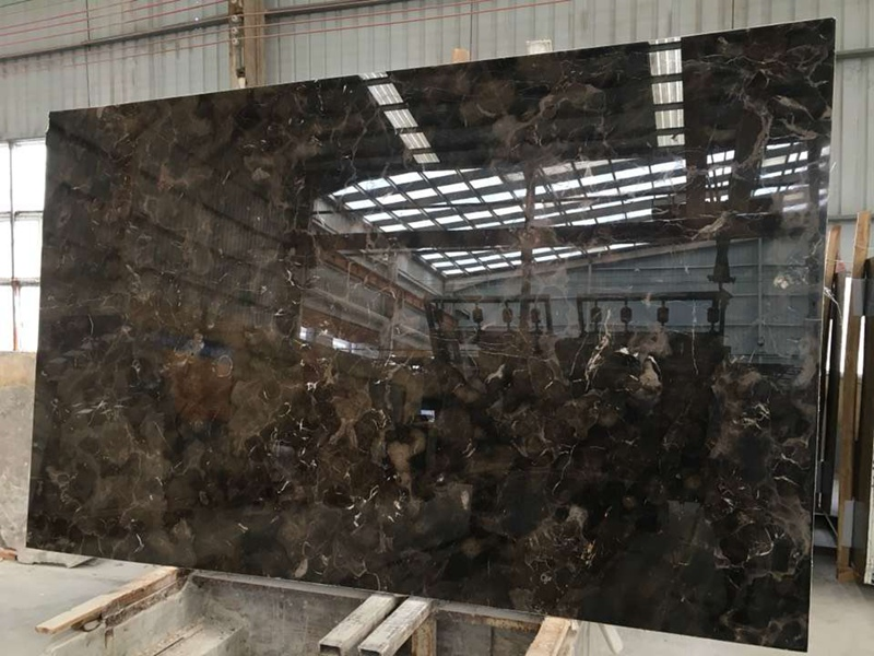 China Dark Emperador Marble Countertops