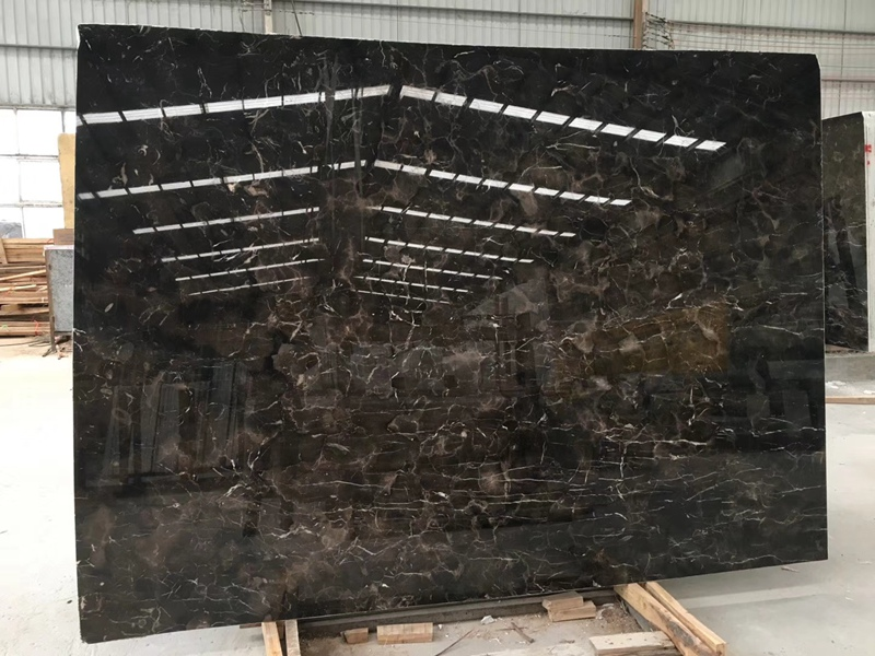 China Dark Emperador Marble Table Tops