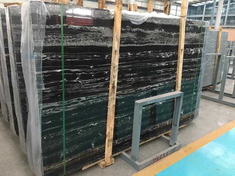 China Nero Portoro Marble