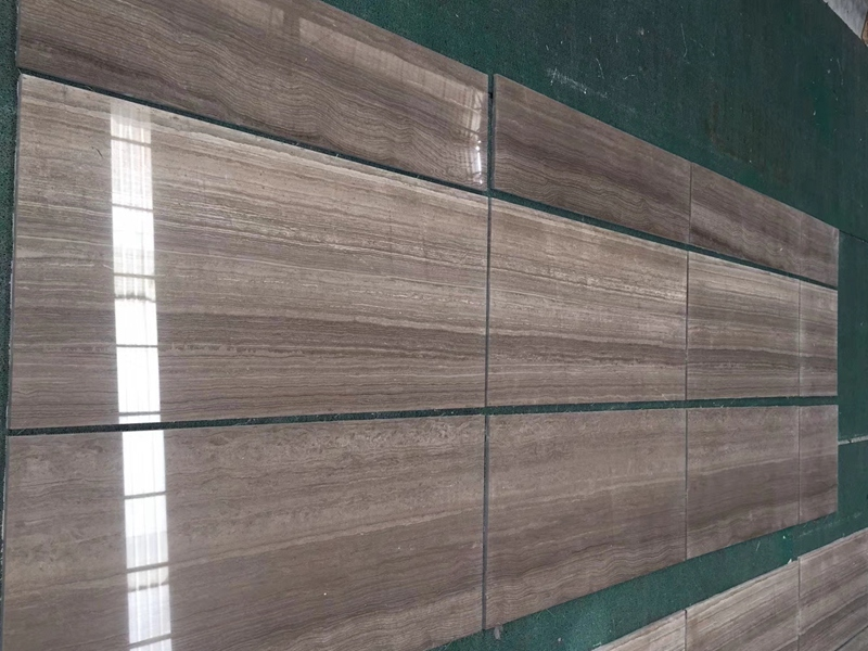 Coffee Wood Marble Tiles
