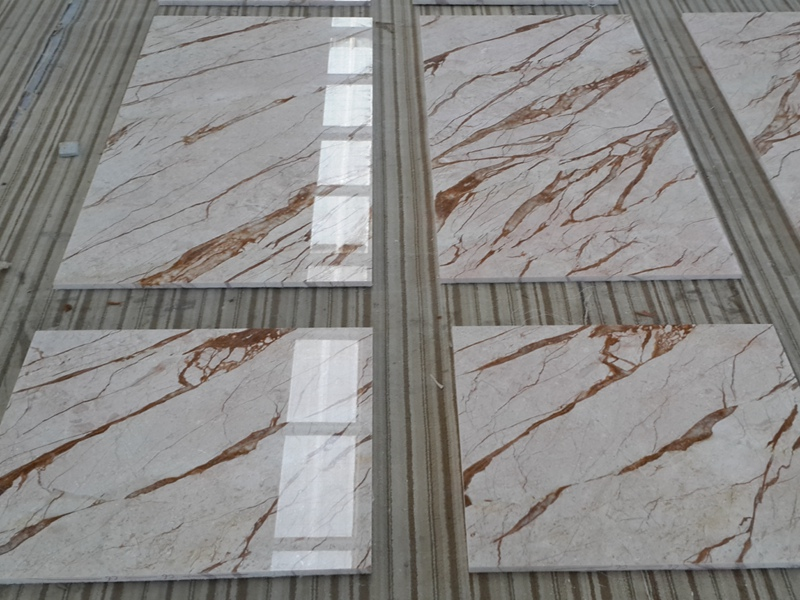 Cream Block Marble Tiles