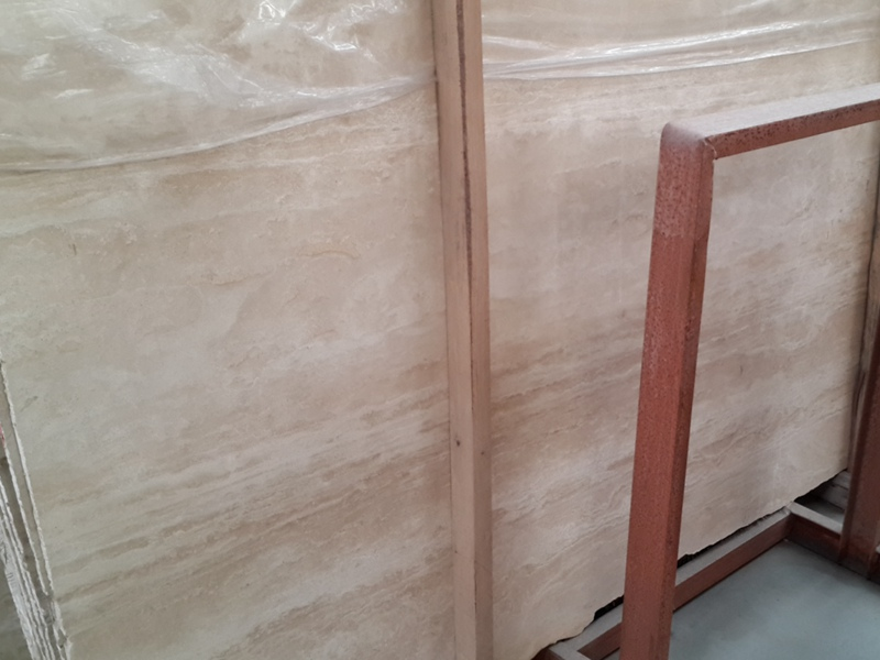 Cream White Travertine