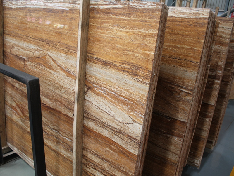 Golden Walnut Travertine