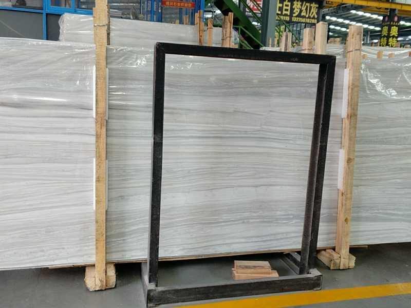 Greek White Wood Marble