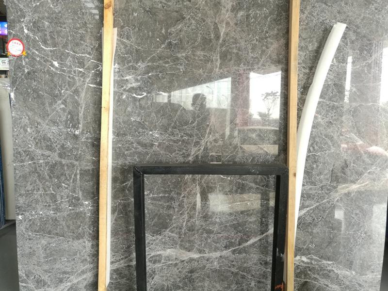 Hermes Grey Marble Countertops
