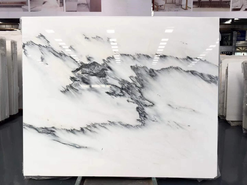 Ink White Marble