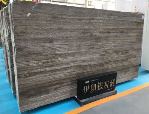 Iranian Silver Grey Travertine