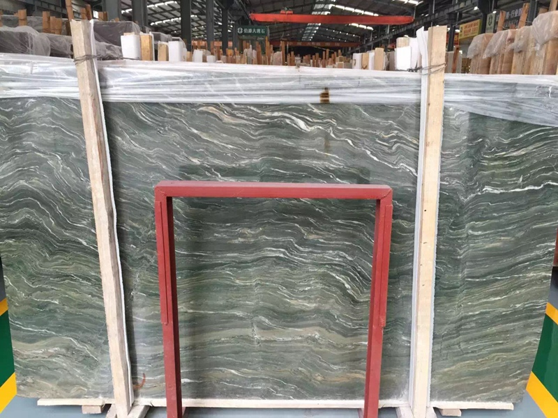 Kowloon Jade Green Marble