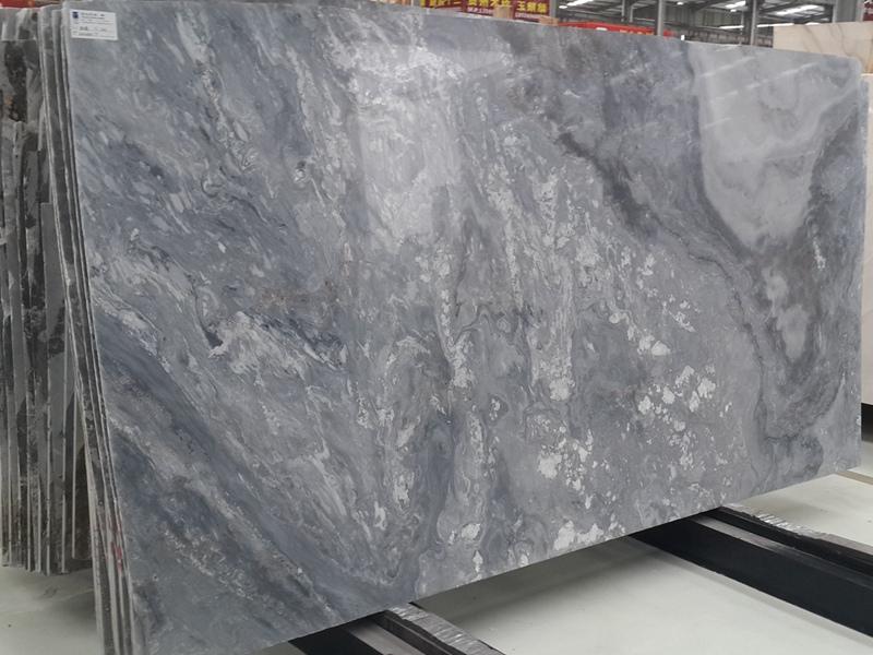 Palissandro Blu Nuvolato Marble Slabs