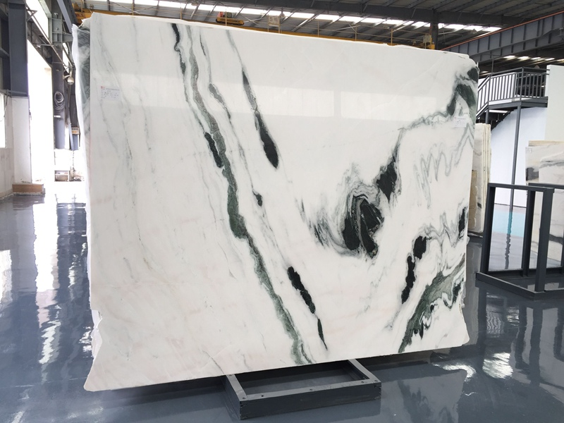 Panda White Marble Countertops