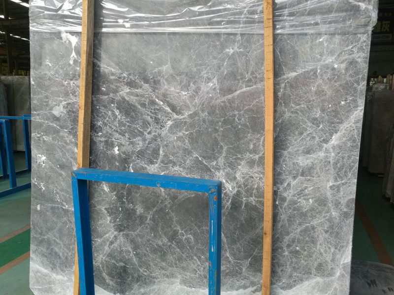 Silver Gray Marble