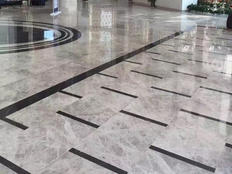 Silver Shadow Grey Marble Flooring Tiles