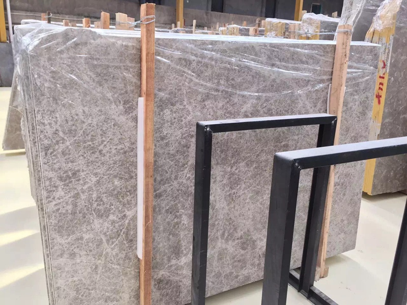 Silver Shadow Grey Marble Slabs