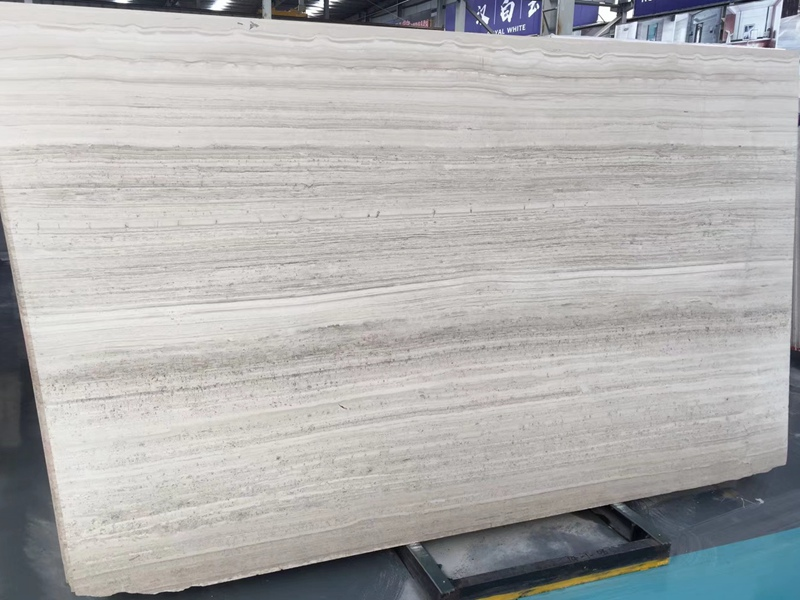 White Petrifide Wood Marble