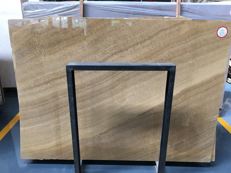 Wooden Yellow Marble