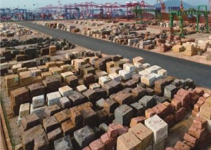 Xiamen Port Chinese largest stone distribution center