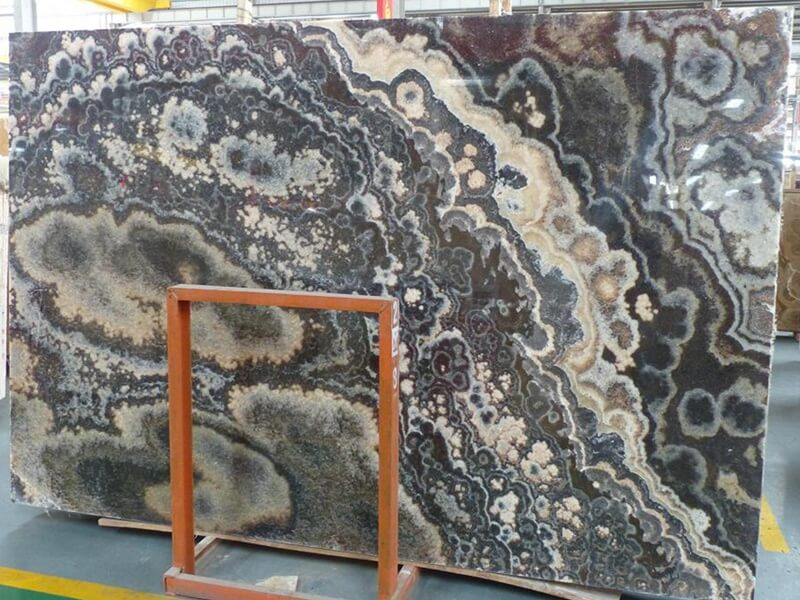 Backlit Dragon Black Onyx Countertops