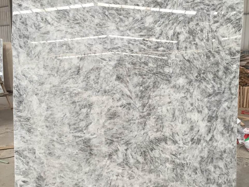 Backlit Grey Ice Onyx Countertops
