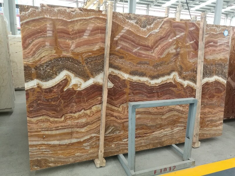 Backlit Multicolor Tiger Onyx Countertops