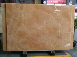 Backlit Yellow Honey Onyx Countertops