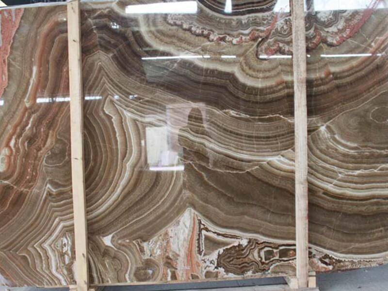 Classical Brown Onyx Slabs