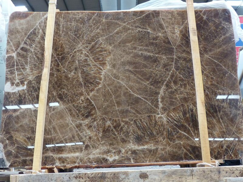 Coffee Brown Onyx Table Tops