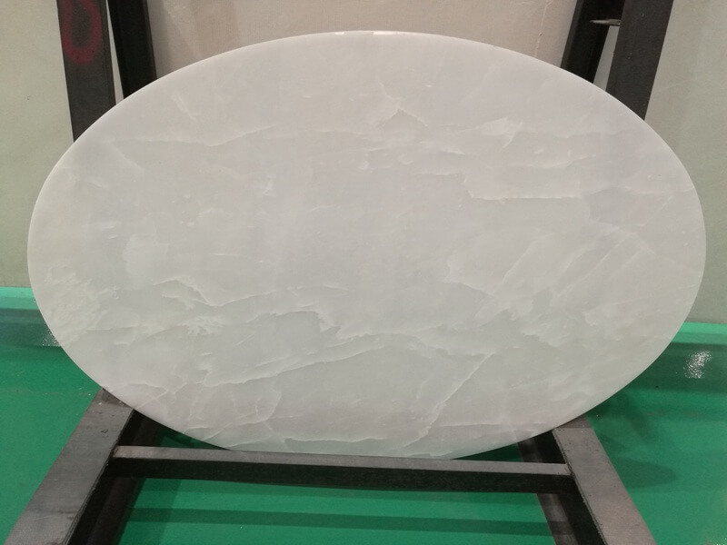 Royal Ice White Onyx Table Tops