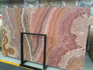Ruby Red Onyx Table Tops