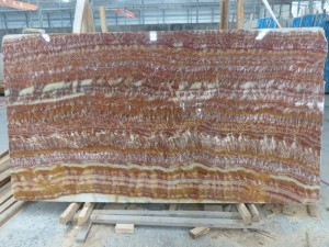 Ruby Red Onyx Tiles