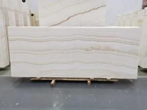 Vanilla White Wooden Onyx Table Tops