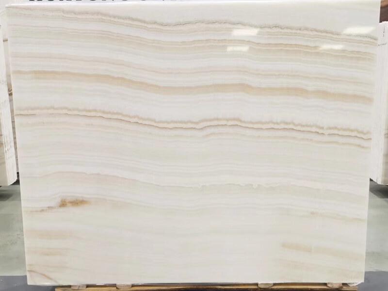 Vanilla White Wooden Onyx