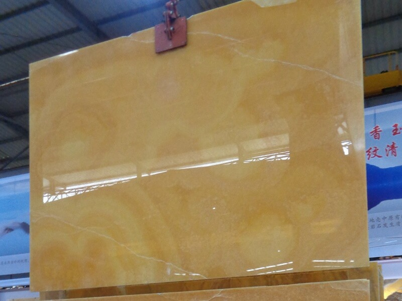 Yellow Honey Onyx Table Tops