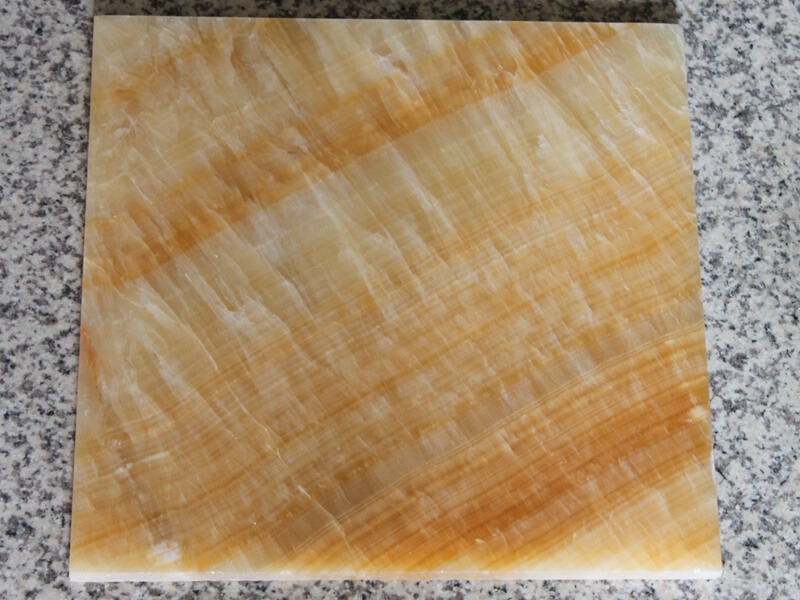 Yellow Honey Onyx Slabs Tiles