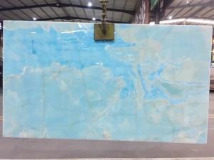 Backlit Blue Onyx Countertops