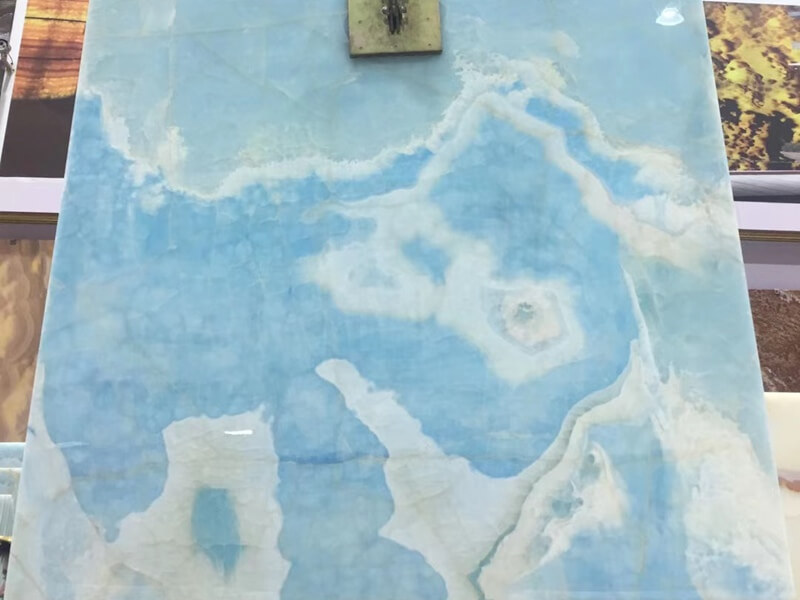 Blue Onyx Table Tops