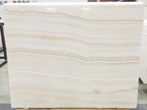 Ivory Onyx Avorio Travertine Slabs