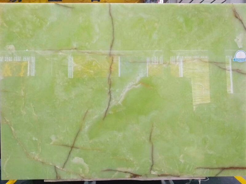 Light Green Onyx Slabs