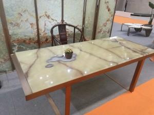 Light Green Onyx Table Tops