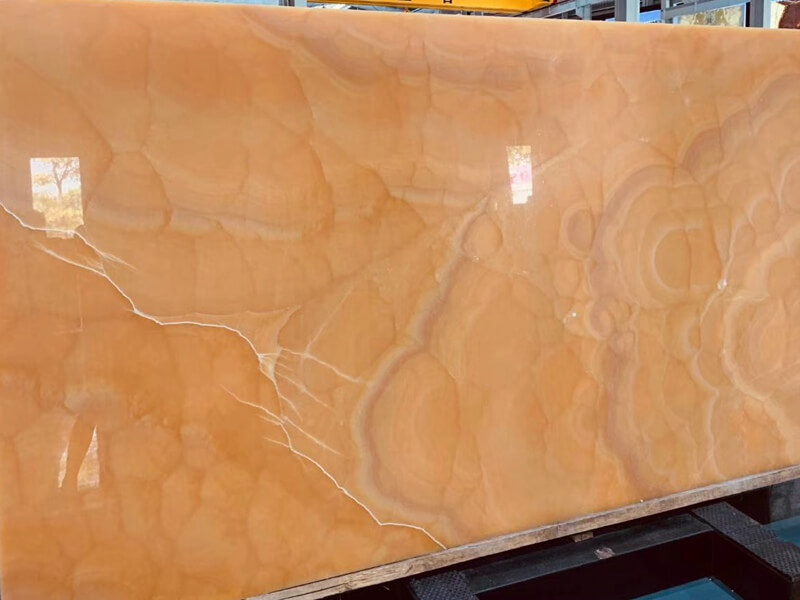 Peach Onyx Countertops